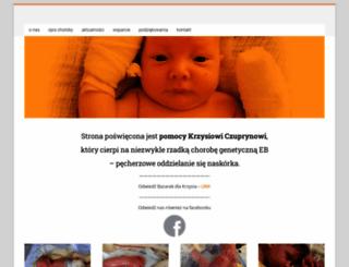 pomocdlakrzysia.pl screenshot