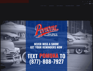 pomonaswapmeet.com screenshot