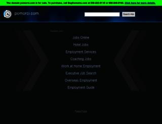 pomorci.com screenshot