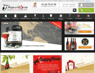 pompeabiere.com screenshot