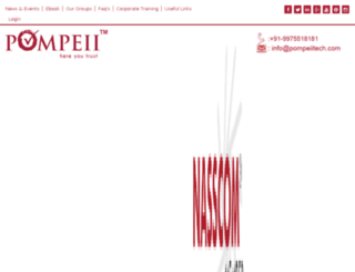 pompeiitech.com screenshot
