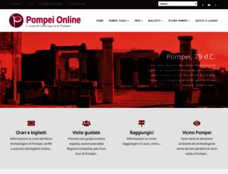 pompeionline.net screenshot