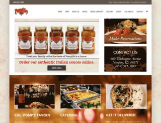 pompilios.com screenshot