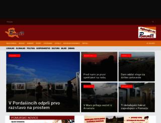 pomurec.com screenshot