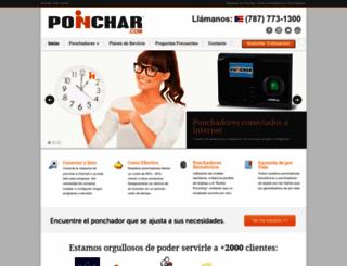 ponchar.com screenshot