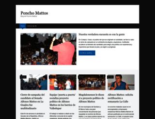 ponchomattoss.wordpress.com screenshot
