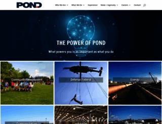 pondco.com screenshot