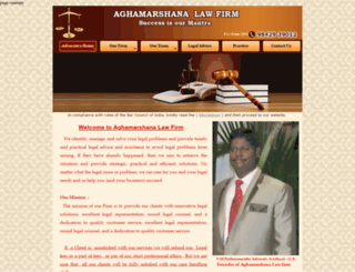 pondicherrylawyers.com screenshot