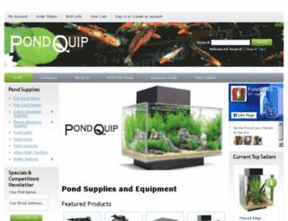 pondquip.com.au screenshot