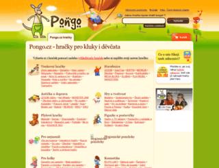 pongo.cz screenshot