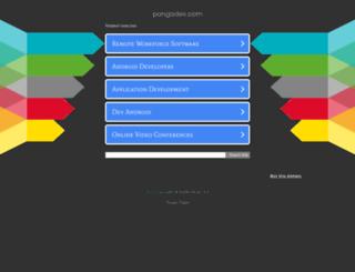 pongodev.com screenshot