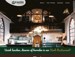 ponkje.nl screenshot
