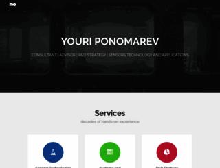 ponomarev.be screenshot