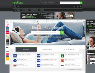 ponscast.radio.de screenshot