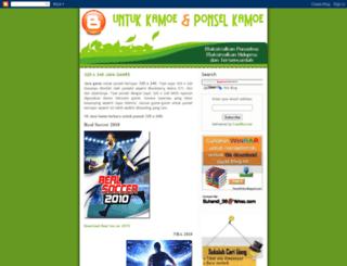 ponselpintar.blogspot.com screenshot