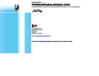 ponsundaralingam.com screenshot