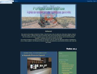 pontaodasvinhas.blogspot.com screenshot