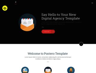 pontero-template.webflow.io screenshot