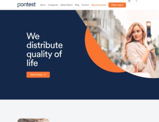 pontest.com screenshot