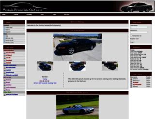 pontiacbonnevilleclub.com screenshot
