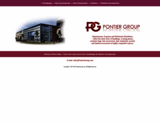 pontiergroup.com screenshot