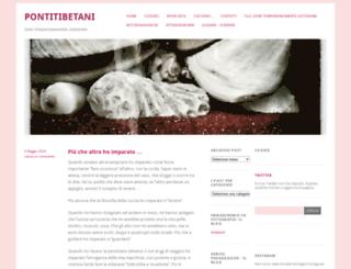 pontitibetani.wordpress.com screenshot