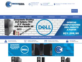 pontocentral.com.br screenshot
