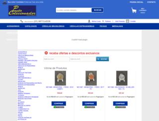 pontodocolecionador.com.br screenshot