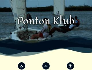 pontonklub.hu screenshot