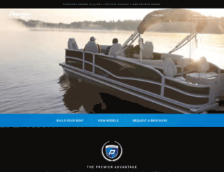 pontoons.com screenshot