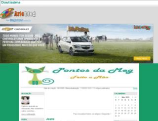 pontosdameg.arteblog.com.br screenshot