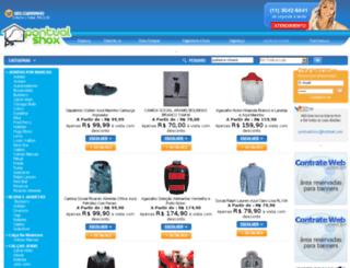 pontualshox.com screenshot