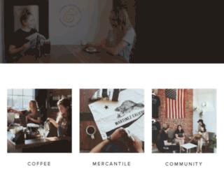 ponybrandcoffee.com screenshot