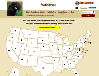 poodle.rescueme.org screenshot