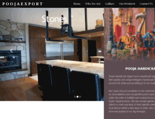poojaexport.com screenshot