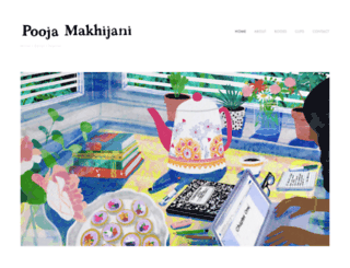 poojamakhijani.com screenshot