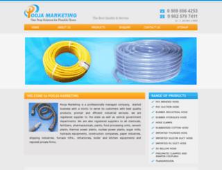 poojamarketing.com screenshot