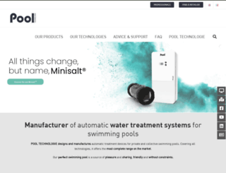 pool-technologie.com screenshot