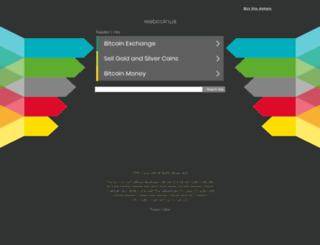pool.webcoin.us screenshot