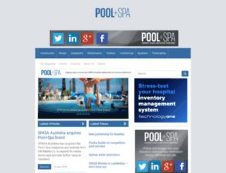 poolandspareview.com.au screenshot