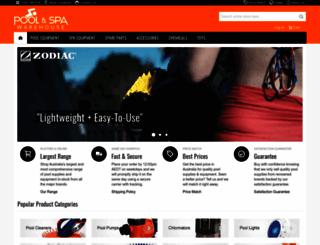 poolandspawarehouse.com.au screenshot