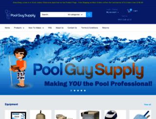 poolguysupply.com screenshot