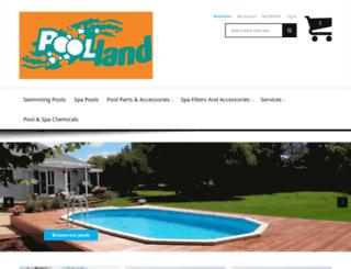 poolland.co.nz screenshot