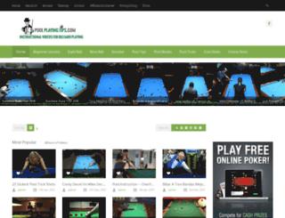 poolplayingtips.com screenshot