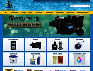 poolpro.com.au screenshot