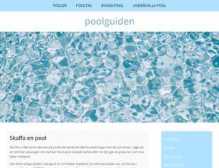 poolriket.se screenshot