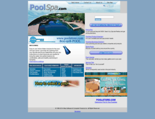 poolspa.com screenshot