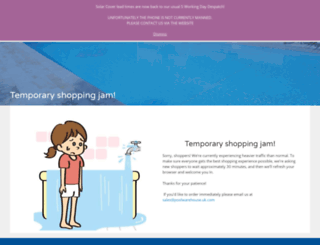 poolwarehouseuk.com screenshot