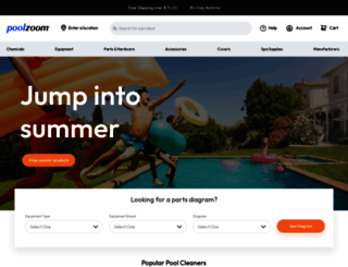 poolzoom.com screenshot