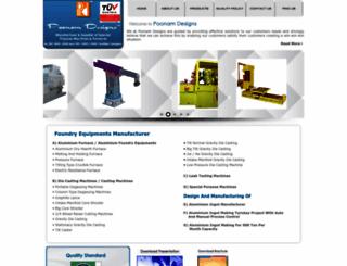 poonamdesigns.com screenshot